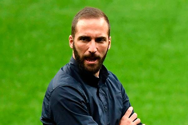 Striker Juventus, Gonzalo Higuain,