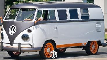 Volkswagen 電動露營車 Type 20 曝光!