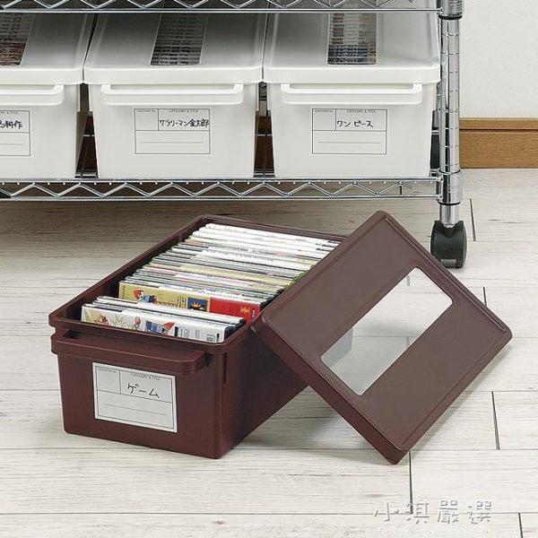 日本進口家用dvd碟片cd盒光盤收納盒箱塑料專輯游戲碟儲存盒架