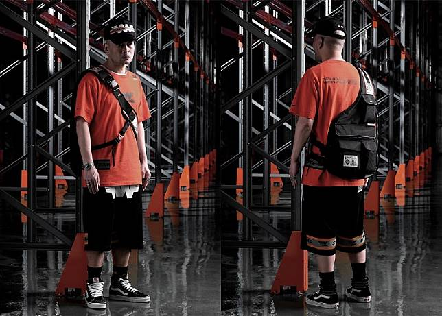 Snapback、Logo Tee、Sweat Shorts、Utility Shoulder Bag(互聯網)