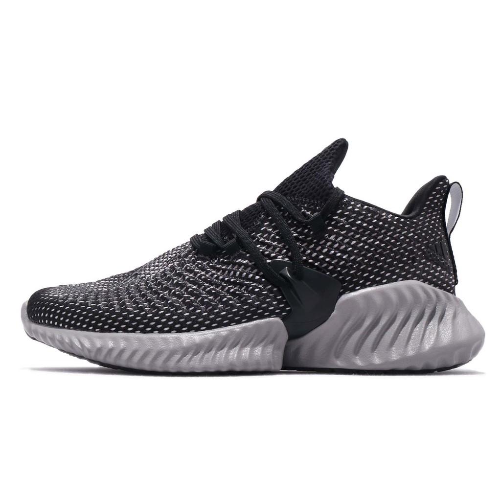 adidas 慢跑鞋 AlphaBounce Instinct M 黑 灰 男鞋 BC0626 【ACS】