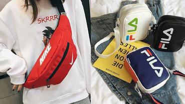 運動斜背包買起來!PTT 網友都推薦哪些品牌、款式,有了它隨便穿搭都很潮
