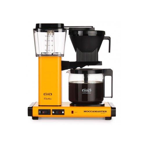 金時代書香咖啡 Technivorm Moccamaster 美式咖啡機濾泡式咖啡機 KBGC741Y 芥末黃(歡迎加入Line@ID@kto2932e詢問)