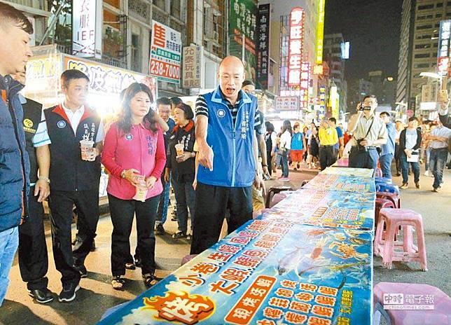 六合夜市街頭民調有玄機?網揭韓國瑜隱憂