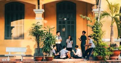 Bất ngờ với 1001 góc chụp siêu ảo, nhận không ra trường THPT Nguyễn Thị Minh Khai hay lạc trong khu du lịch nào đó