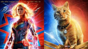 全面替換導演!漫威確定啟動製作《驚奇隊長 2》,貓咪佛萊肯才是本體?