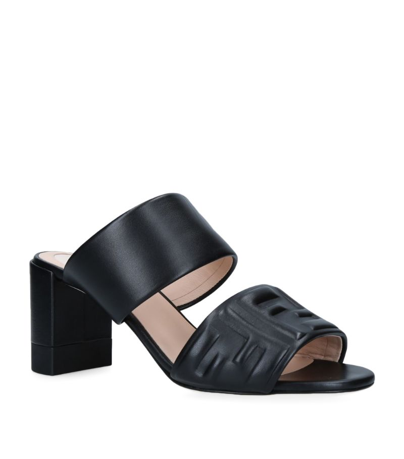 The demand for elegant mules shows no signs of slowing and Fendi answers the call with this standout