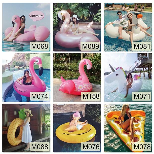 【現貨可租借】梨卡 - 以租代買【各式泳圈】天鵝火烈鳥西瓜鳳梨甜甜圈雲朵浮排浮板