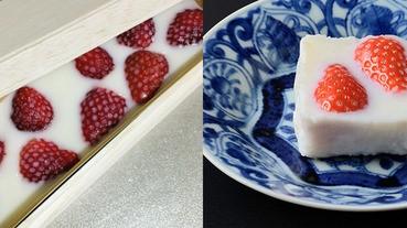 讓所有女孩瘋狂的草莓牛奶果凍!