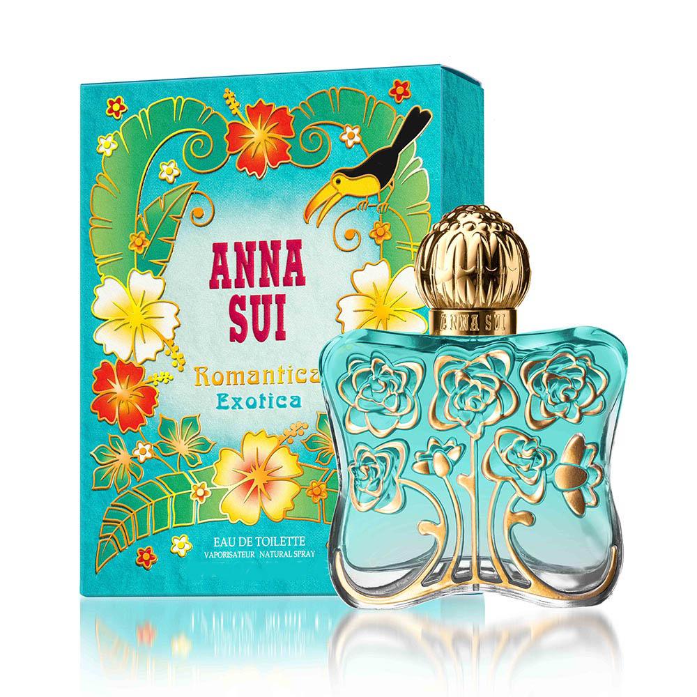 用細膩精緻線條描繪出花朵輪廓,純粹無暇花卉的喜悅,發出強烈能量光輝,整體設計的藍綠風格,傳遞出色彩鮮明的大自然元素。 ▍ANNA SUI綠野仙蹤淡香水恣意綠野 〝我想替Anna創造一個獨特女人味,美麗