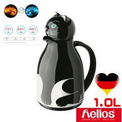 德國helios 海利歐斯黑貓造型保溫壺1.0l