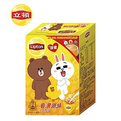 每盒隨機贈送LINE FRIENDS杯緣子一款(熊大款/兔兔款/莎莉款)台灣製造含斯里蘭卡紅茶口味香濃滑順