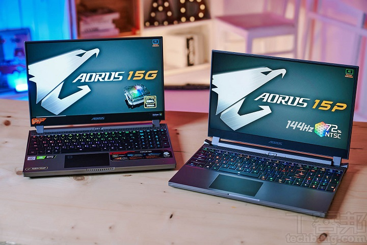 AORUS 全系列滿足電競玩家,機械軸筆電 AORUS 15 動手玩
