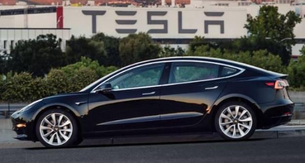 Tesla Model 3. Kredit: New York Times