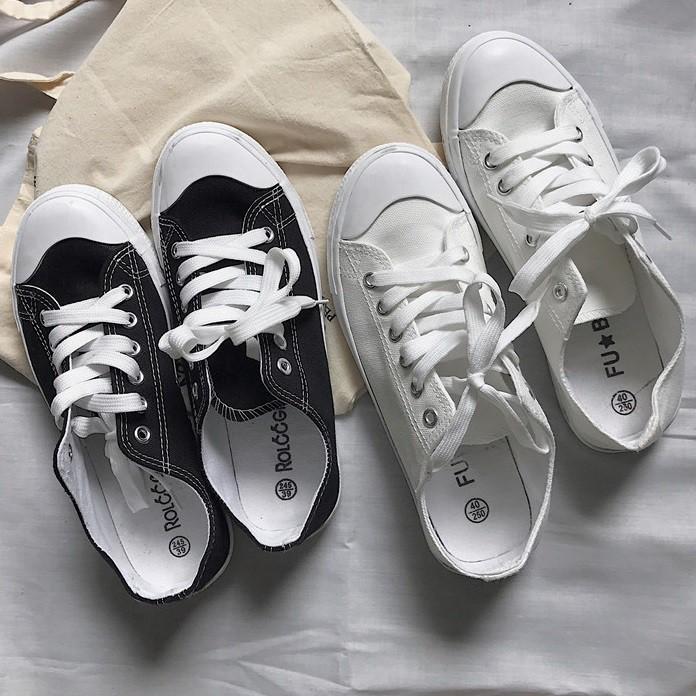 """ZUCA""""S - 現貨 -復古小白鞋運動平底鞋休閒帆布鞋 -GG-5184"""