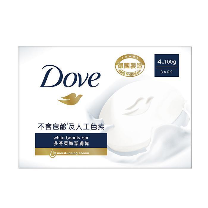 DOVE多芬 滋養柔嫩潔膚塊/清爽水嫩潔膚塊 4x100g (兩款任選)