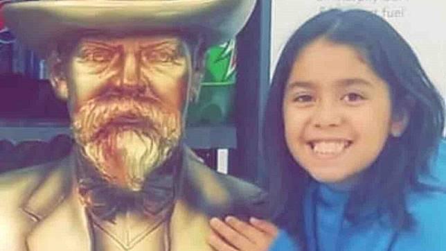 9歲女童埃爾南德斯(Emma Valentina Hernandez)被3隻比特犬咬死。圖/翻攝募資網站GoFundMe