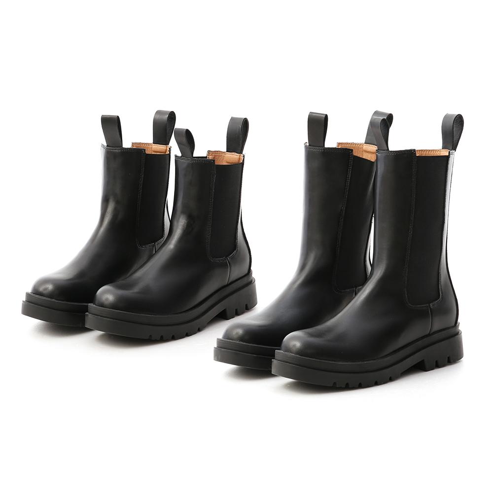 D+AF加厚鞋底切爾西中筒靴 切爾西靴