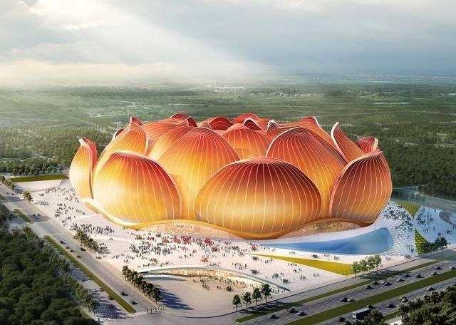 อลังการสุดๆ! 'กว่างโจว' ลุยแผนสนามบอล 'ใหญ่สุดในโลก' 100,000 ที่นั่ง