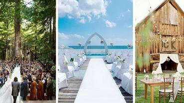 【婚禮特輯】我們結婚吧! 5 種超夢幻主題婚禮大集合