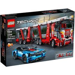 ◎台灣樂高公司貨|◎積木片數:2493|◎商品名稱:LEGO樂高積木科技Technic系列42098汽車運輸車種類:積木品牌:LEGO樂高適用年齡:8歲以上角色:沒有特殊角色特色:模型,堆疊積木,無毒