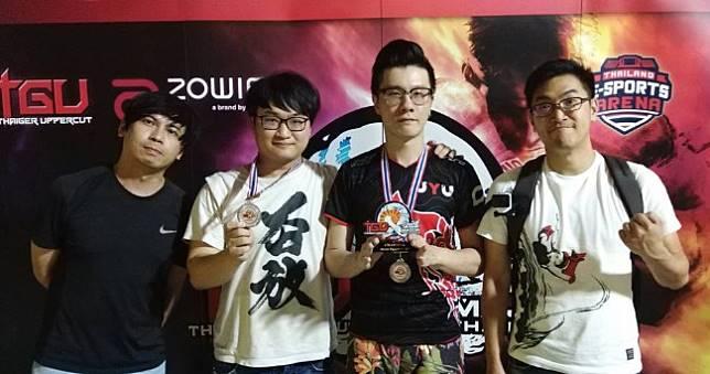 《快打旋風5》五股石油王奪泰國TGU x SEA Major積分賽冠軍