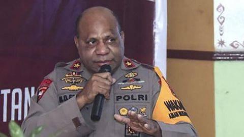 Kapolda Papua Irjen Pol Mathius Fakiri. (Dok. www.tribratanewspapua.id)
