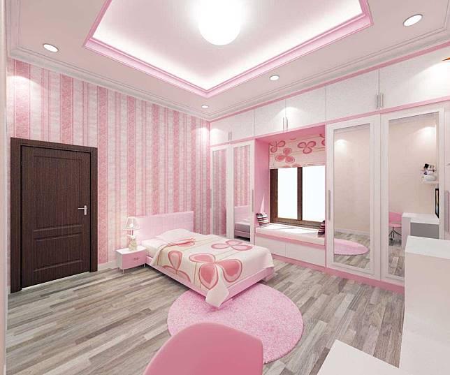Ingin Punya Kamar Tidur dengan Warna Pink? Yuk Intip Inspirasinya di Sini