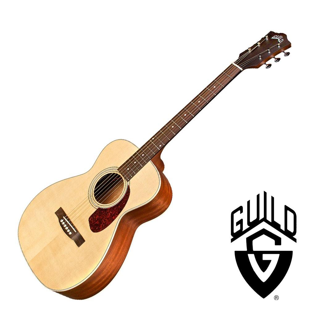 Guild M240E旅行吉他39吋 雲杉單板 小吉他 民謠吉他 - 【他,在旅行】