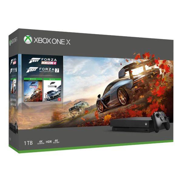 Xbox One X 1TB極限競速:地平線 4同捆組【再送藍牙無線控制器、戰爭機器4序號卡】
