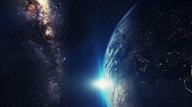 Ilustrasi galaksi atau luar angkasa [Shutterstock].