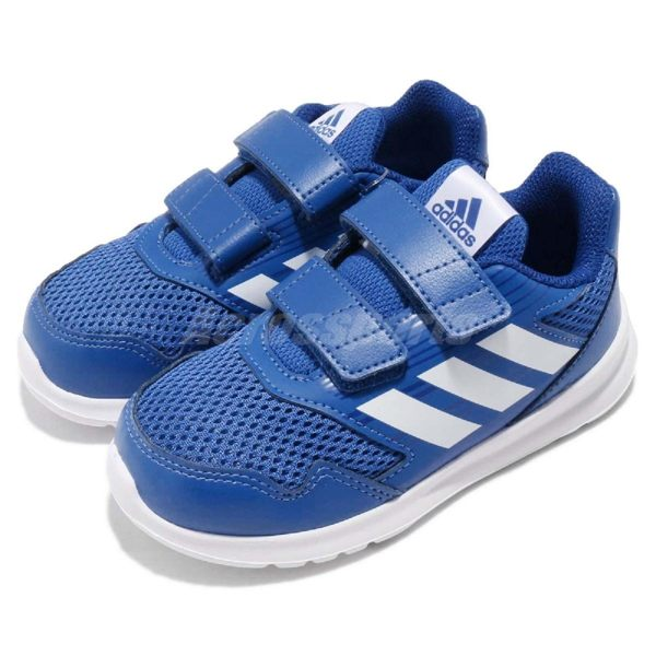 Running 愛迪達 透氣輕量化鞋款 小朋友 免鞋帶 無鞋帶