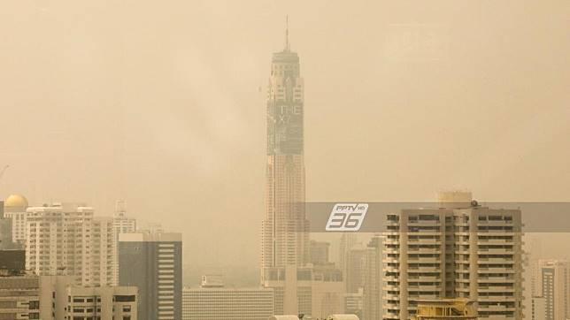 พุ่ง !! ฝุ่น PM 2.5 เกินมาตรฐาน 15 จุดทั่วกรุงเทพฯปริมณฑล
