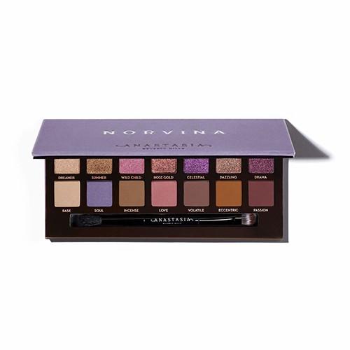 現貨+預購 ANASTASIA BEVERLY HILLS 公主紫14色眼影盤0.71gx14 小婷子