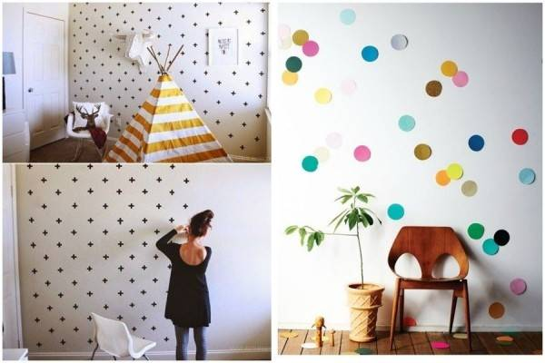 10 Cara Gampang Bikin Wallpaper Kamar, Bisa Pakai Lakban sampai Koran