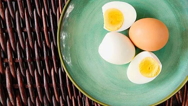 Ilustrasi telur rebus