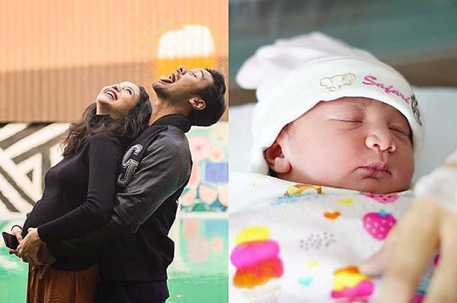 10 Momen Haru Kehamilan Putri Marino Sampai Melahirkan