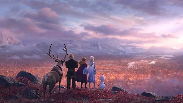 主角們進入北方的「魔法森林」,展開一場大冒險。(互聯網)