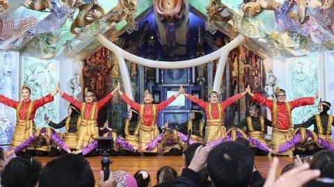 Tari Saman Aceh asal Indonesia sukses tampil memukau di festival seni tari tahunan UNESCO yang berlangsung pada Minggu (2/5) di Wellington, Selandia Baru. (Arsip KBRI Selandia Baru)