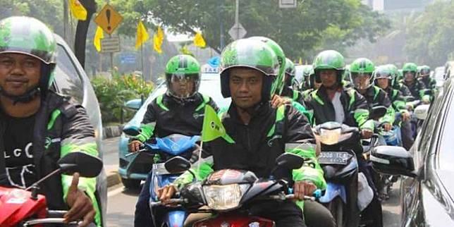 Driver ojol di Jakarta (liputan6.com)