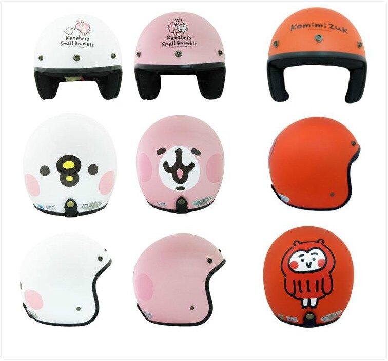 全台最低價 EVO半罩式安全帽 4/3罩 超夯卡通圖案 迪士尼三麗鷗正版 台灣製造 買1送2 口罩 面罩