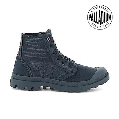 Palladium PALLADENIM單寧帆布靴-男-牛仔藍