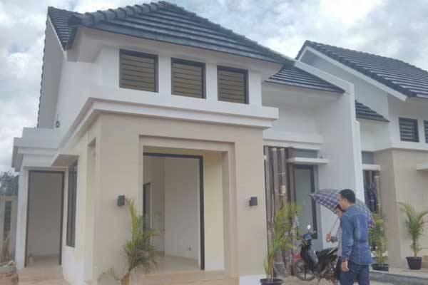 Pengembang Terrakon Property tengah membangun kawasan perumahan Royal Resort Residences di Jalan Tegal Binangun, Jakabaring, Palembang.