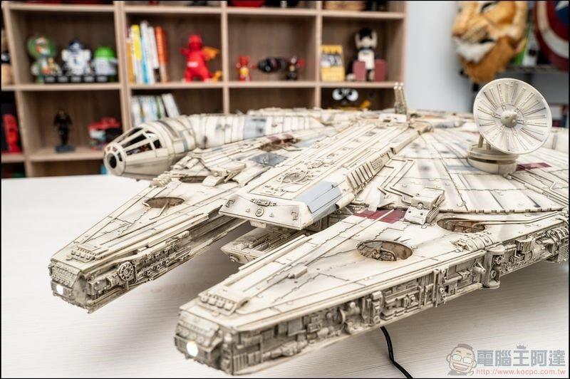 千年鷹號 Millennium Falcon 1:1 模型開箱 - 01