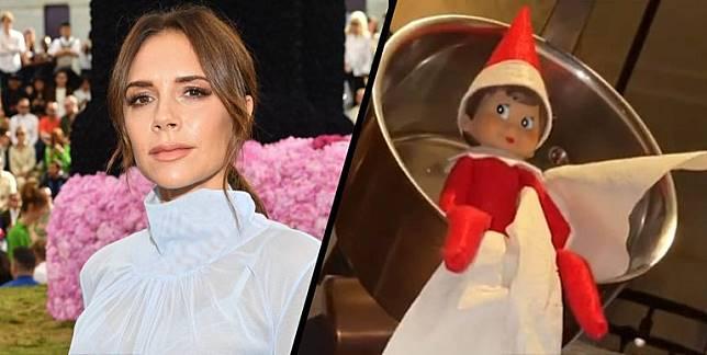 Lihat Dekorasi Natal di Rumah Victoria Beckham!