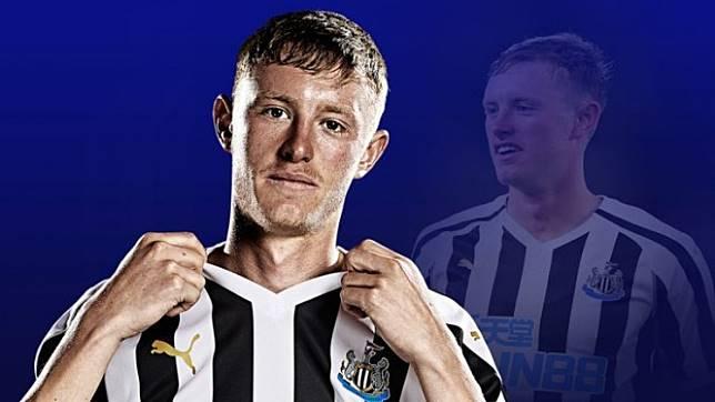 Gelandang Newcastle United, Sean Longstaff