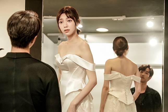 郭雪芙穿婚紗1
