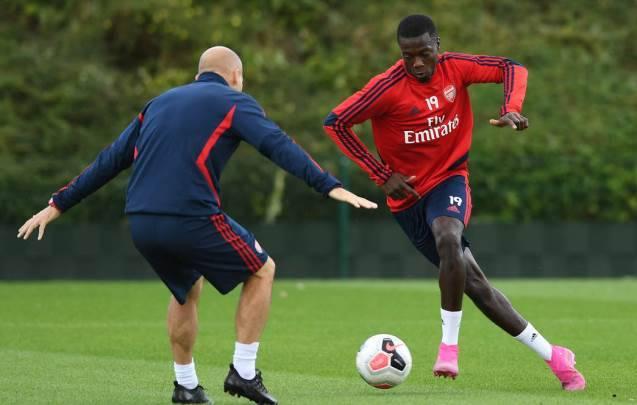 Pepe Starting di Laga Arsenal vs Burnley? Begini Jawaban Unai Emery