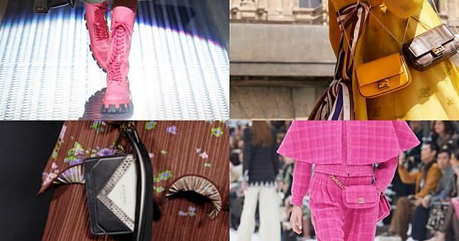 長靴、迷你包、腰包...5大鞋包秋冬流行重點我們幫妳抓好了!
