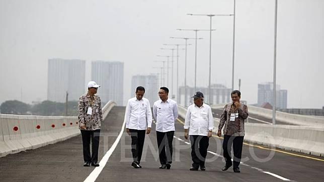 Tol Jakarta-Cikampek Layang Dibuka Esok Pagi, Ini Akses Masuknya